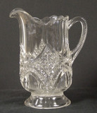 Dalton Pattern Glass Small Pitcher EAPG