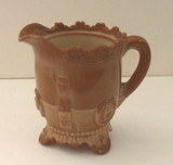 Dewey EAPG Chocolate Glass Creamer