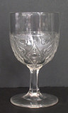 Fan with Diamond EAPG Goblet