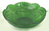 Fancy Arch Pattern Glass Master Berry Bowl - McKee