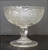 Flattened Diamond and Sunburst Jelly Compote
