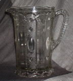 Kansas / Jewel and Dewdrop EAPG Pitcher