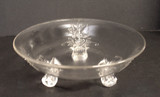 Grasshopper Pattern Flared Rim Bowl EAPG