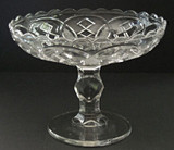 "Washington Centennial 9"" Open Compote EAPG"