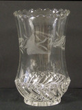 Kokomo - Bar and Diamond Celery Vase w Engraving