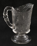Canadian Scenic Pattern Glass Creamer 1870's