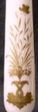 """Gilded DOLPHINS Unusual Opal 12"""" Pedestal Vase"""