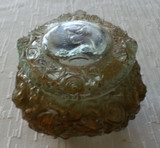 Goofus Glass Gibson Girl Ladies Dresser Box