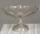 Stippled Sandbur compote, Stippled Star variant, Beatty-Brady Glass Company   ,