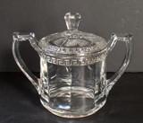 Sheraton  EAPG Sugar Bowl - U. S. Glass Co.