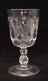 EAPG Ribbon Candy Goblet
