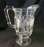 Bryce Brothers Ribbon Candy Water Pitcher