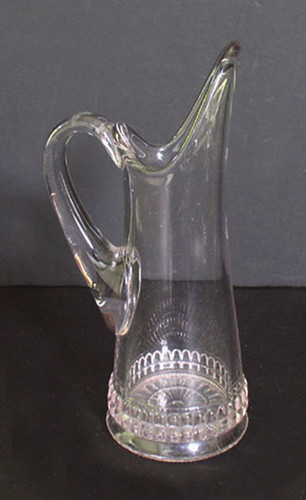 Little Bullet Band EAPG Creamer Findlay Glass