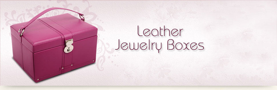 Shop Leather Jewelry Boxes
