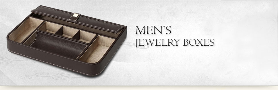 Shop Men's Jewelry Boxes and Valets