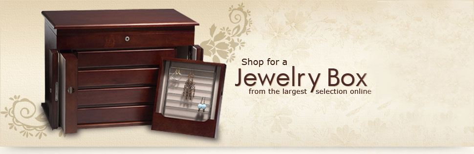 Jewelry Boxes for Men and Women