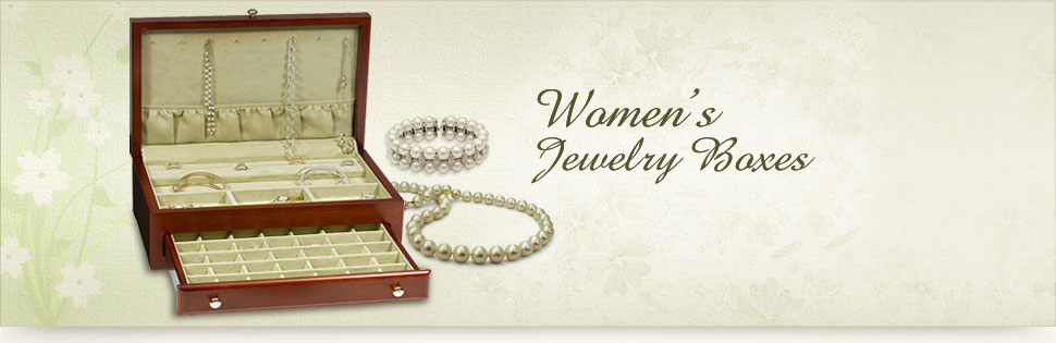 Women's Jewelry Boxes
