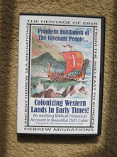 Heritage Of Eber: Ancient Hebrew Sea Migrations DVD front cover