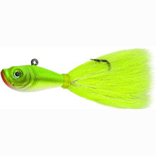 Spro Buck Tail Jig 3oz Crazy Chartreuse