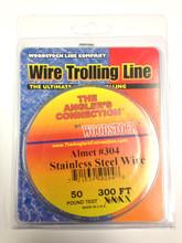 Woodstock Steel Trolling Line 100yd Spool (60lb Test)
