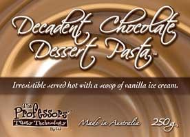 Decadent Chocolate Dessert Pasta