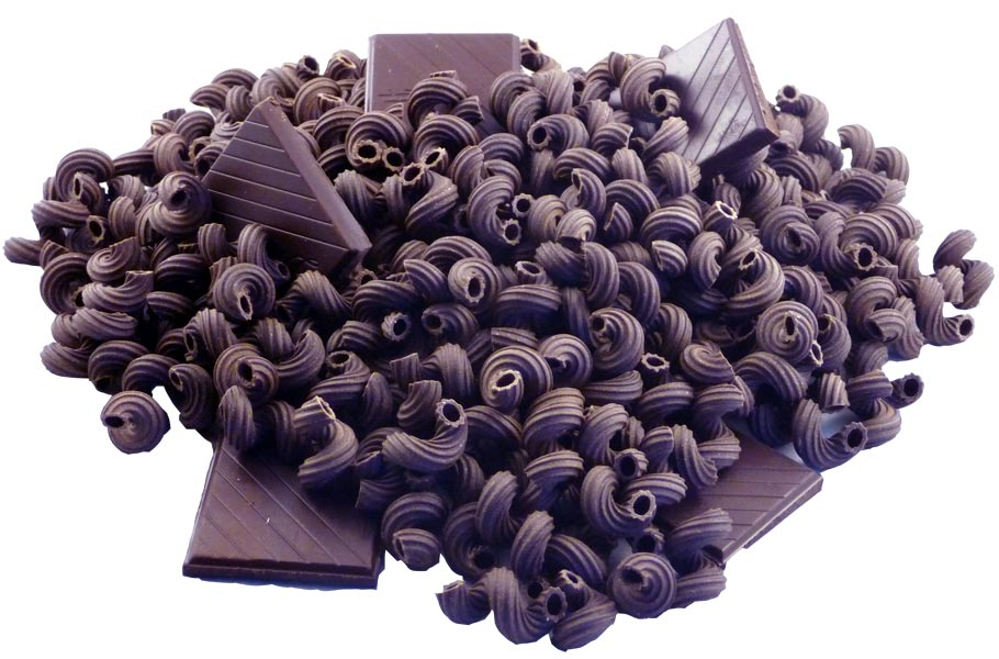 Decadent Chocolate Dessert Pasta - An amazingly unqiue dessert