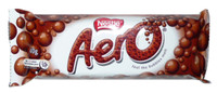 Aero Bar - Original, by Nestle,  and more Confectionery at The Professors Online Lolly Shop. (Image Number :2469)