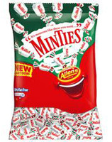 Allens Minties, by Allens Confectionery,  and more Confectionery at The Professors Online Lolly Shop. (Image Number :6363)