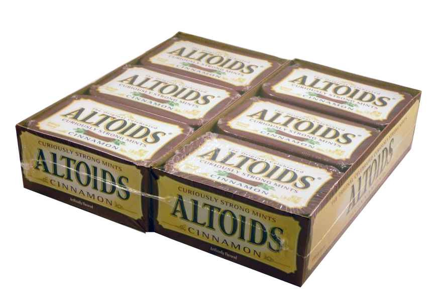 Altoids Cinnamon, by Altoids,  and more Confectionery at The Professors Online Lolly Shop. (Image Number :1909)