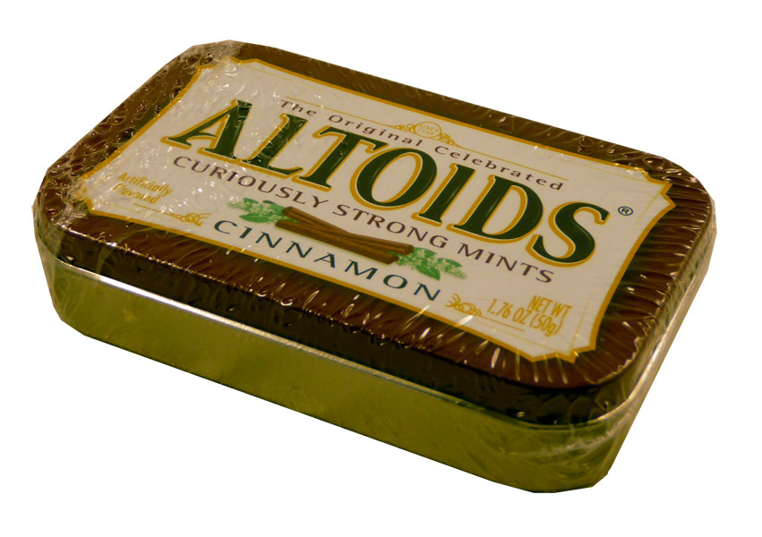 Altoids Cinnamon, by Altoids,  and more Confectionery at The Professors Online Lolly Shop. (Image Number :2226)