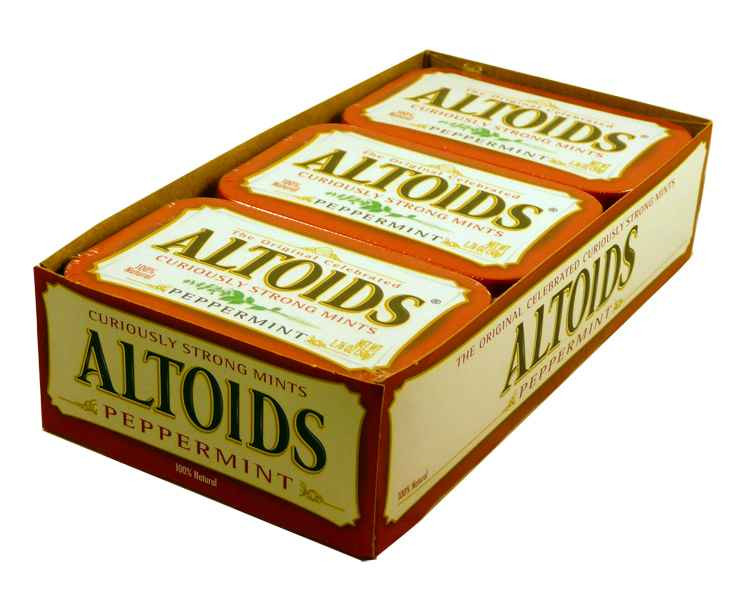 Altoids Peppermint, by Altoids,  and more Confectionery at The Professors Online Lolly Shop. (Image Number :1914)