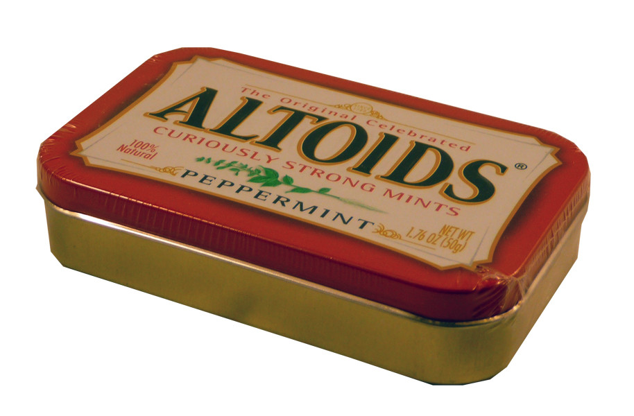 Altoids Peppermint, by Altoids,  and more Confectionery at The Professors Online Lolly Shop. (Image Number :2228)