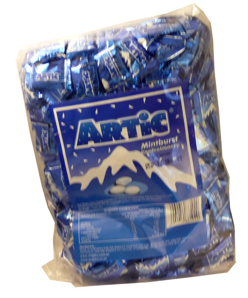 Artic Mints - Mint burst, by Wrigley,  and more Confectionery at The Professors Online Lolly Shop. (Image Number :2460)