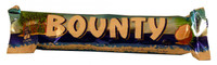 Bounty Bars Milk-Chocolate, by Cadbury,  and more Confectionery at The Professors Online Lolly Shop. (Image Number :1921)