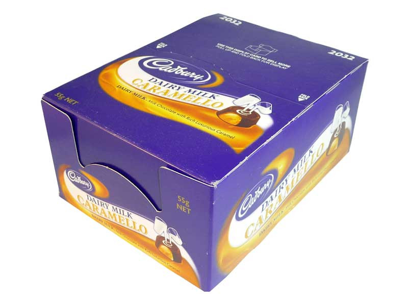 Cadbury Caramello Rolls, by Cadbury,  and more Confectionery at The Professors Online Lolly Shop. (Image Number :2592)
