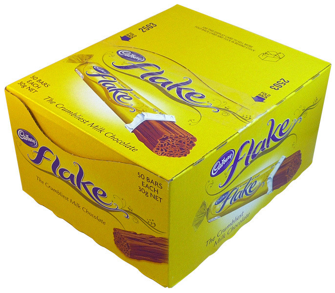 Cadbury Flake, by Cadbury,  and more Confectionery at The Professors Online Lolly Shop. (Image Number :12632)
