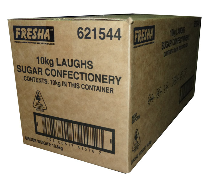 Cadbury Fresha Laughs, by Cadbury/Cadbury Fresha,  and more Confectionery at The Professors Online Lolly Shop. (Image Number :5899)