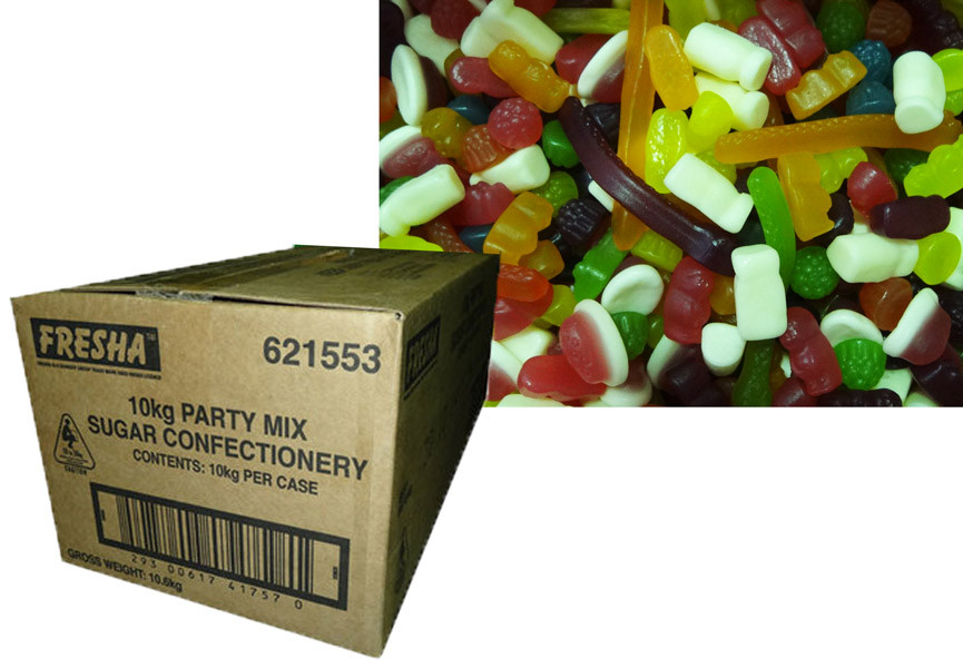 Cadbury Fresha Party Mix, by Cadbury/Cadbury Fresha,  and more Confectionery at The Professors Online Lolly Shop. (Image Number :10783)