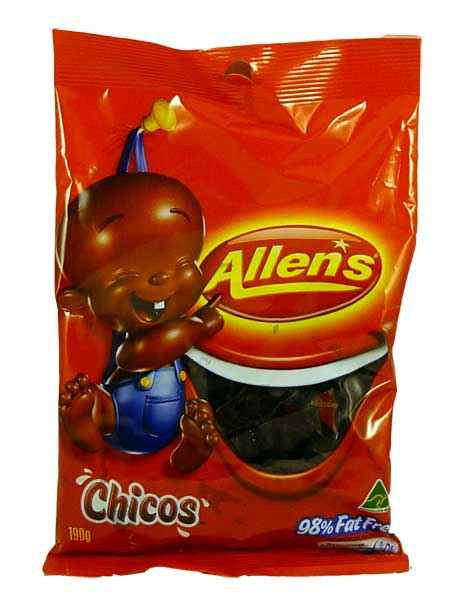 Chicos Saver Pack, by Allens Confectionery,  and more Confectionery at The Professors Online Lolly Shop. (Image Number :1956)