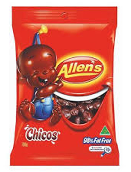 Chicos Saver Pack, by Allens Confectionery,  and more Confectionery at The Professors Online Lolly Shop. (Image Number :6367)