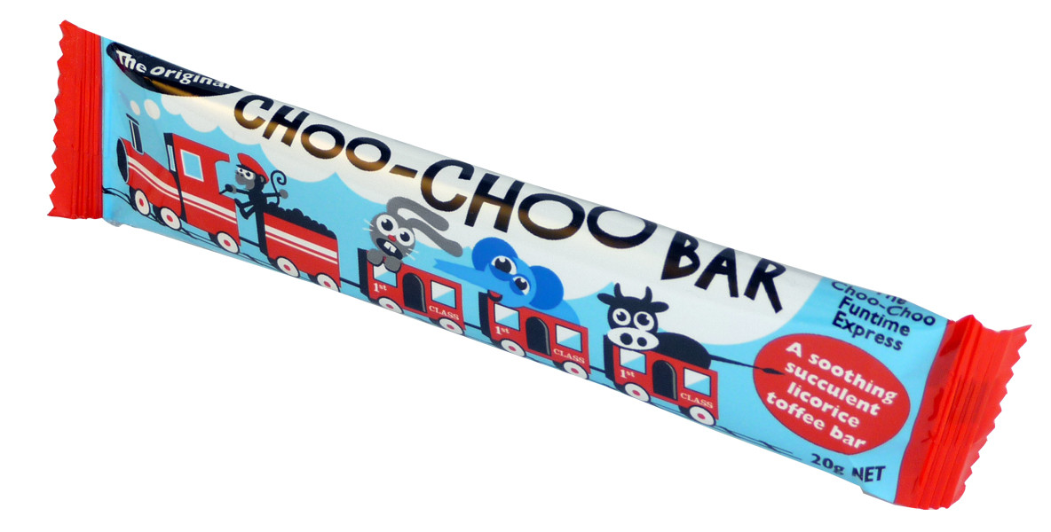 Choo-Choo Bars - licorice, by Lagoon Confectionery,  and more Confectionery at The Professors Online Lolly Shop. (Image Number :2238)