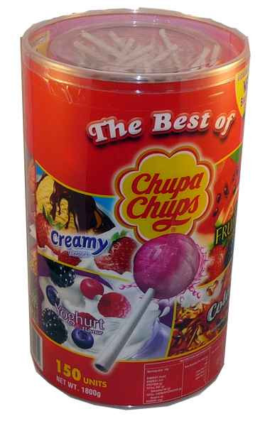 Chupa Chups - Best Of -, by Chupa Chups,  and more Confectionery at The Professors Online Lolly Shop. (Image Number :1963)