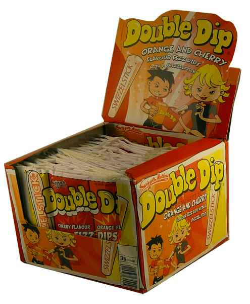 Swizzels Double Dips, by Swizzles Matlow,  and more Confectionery at The Professors Online Lolly Shop. (Image Number :1968)