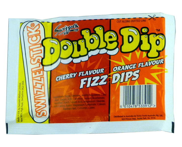 Swizzels Double Dips, by Swizzles Matlow,  and more Confectionery at The Professors Online Lolly Shop. (Image Number :2242)