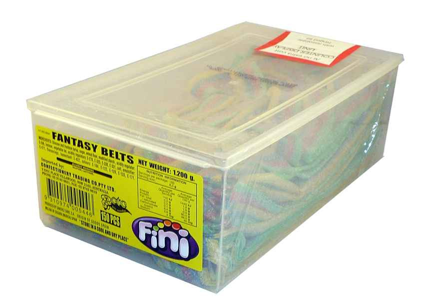 Fini Fantasy Belts, by Fini,  and more Confectionery at The Professors Online Lolly Shop. (Image Number :1993)