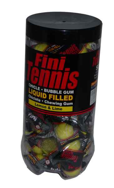 Fini Tennis Balls 18g, by Fini,  and more Confectionery at The Professors Online Lolly Shop. (Image Number :1997)