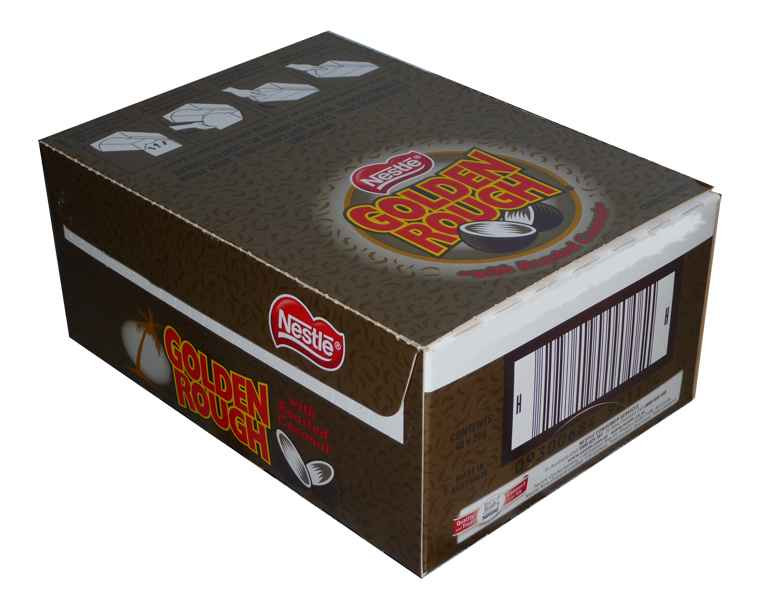 Golden Rough, by Nestle,  and more Confectionery at The Professors Online Lolly Shop. (Image Number :2005)