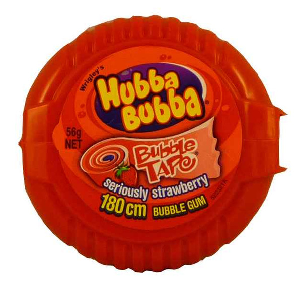 Hubba Bubba Bubble Tape, by Wrigley,  and more Confectionery at The Professors Online Lolly Shop. (Image Number :2015)