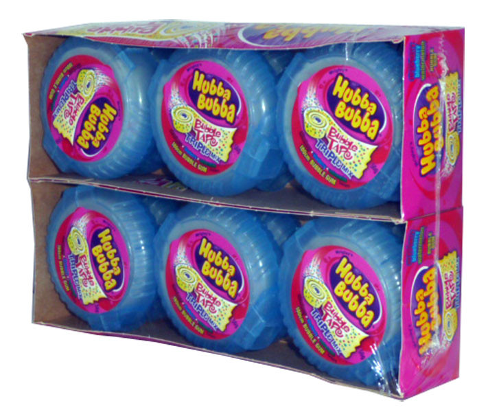 Hubba Bubba Bubble Tape, by Wrigley,  and more Confectionery at The Professors Online Lolly Shop. (Image Number :2467)
