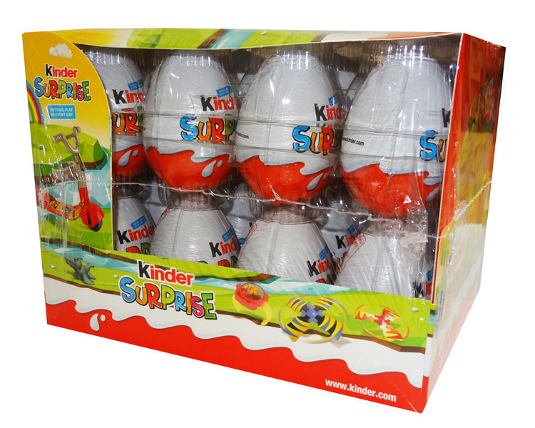 Kinder Surprise, by Kinder/Kinder Bueno,  and more Confectionery at The Professors Online Lolly Shop. (Image Number :9643)
